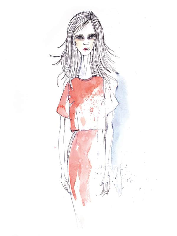 Fashion illustrations   stiftscherepapier