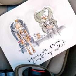 Elternzeit-Reise: Autofahrt