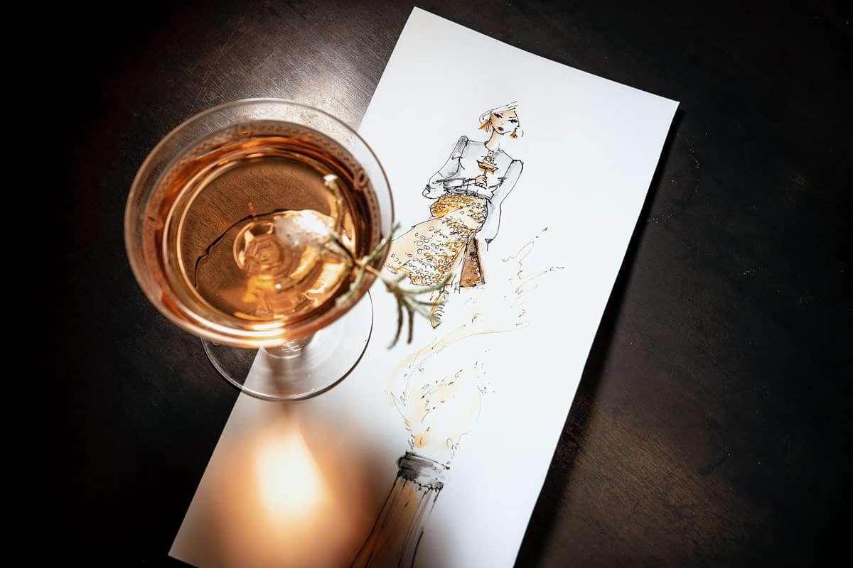 Champagner Drink Silvester