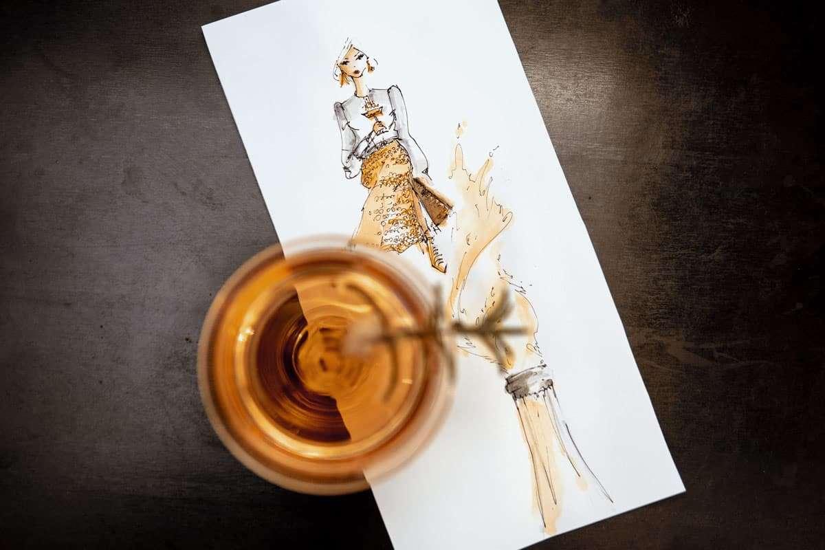Champagner Drink Sylvester