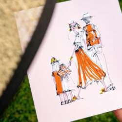 Familienhotel Huber Illustration Nadja König
