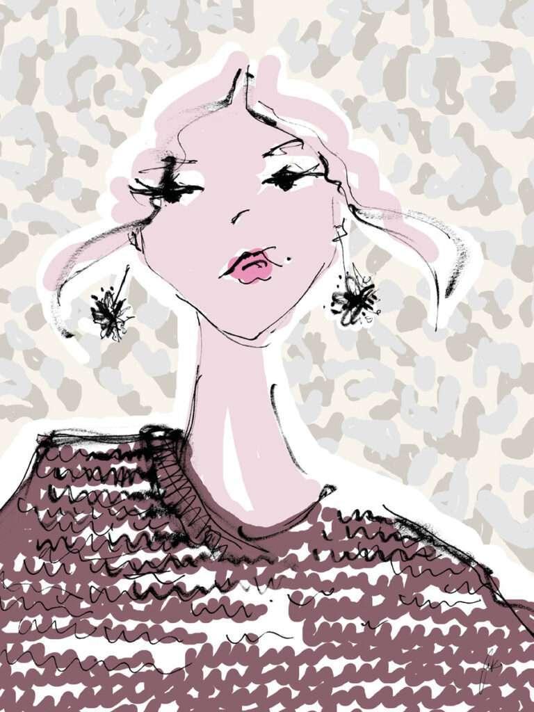 Nadja König Fashion Art Prints