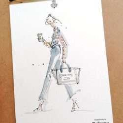 Live Illustration Nadja König