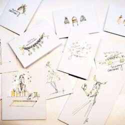 Event Illustration Nadja König Xmas