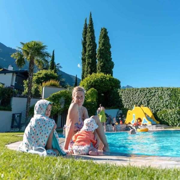 familienfreundliche Hotels Das Grafenstein