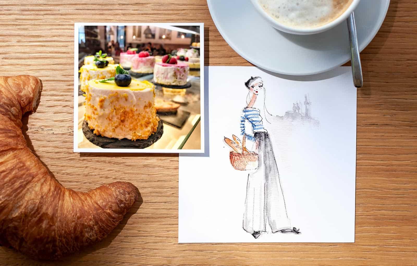 französische Cafés in München - Dominique - Nadja König
