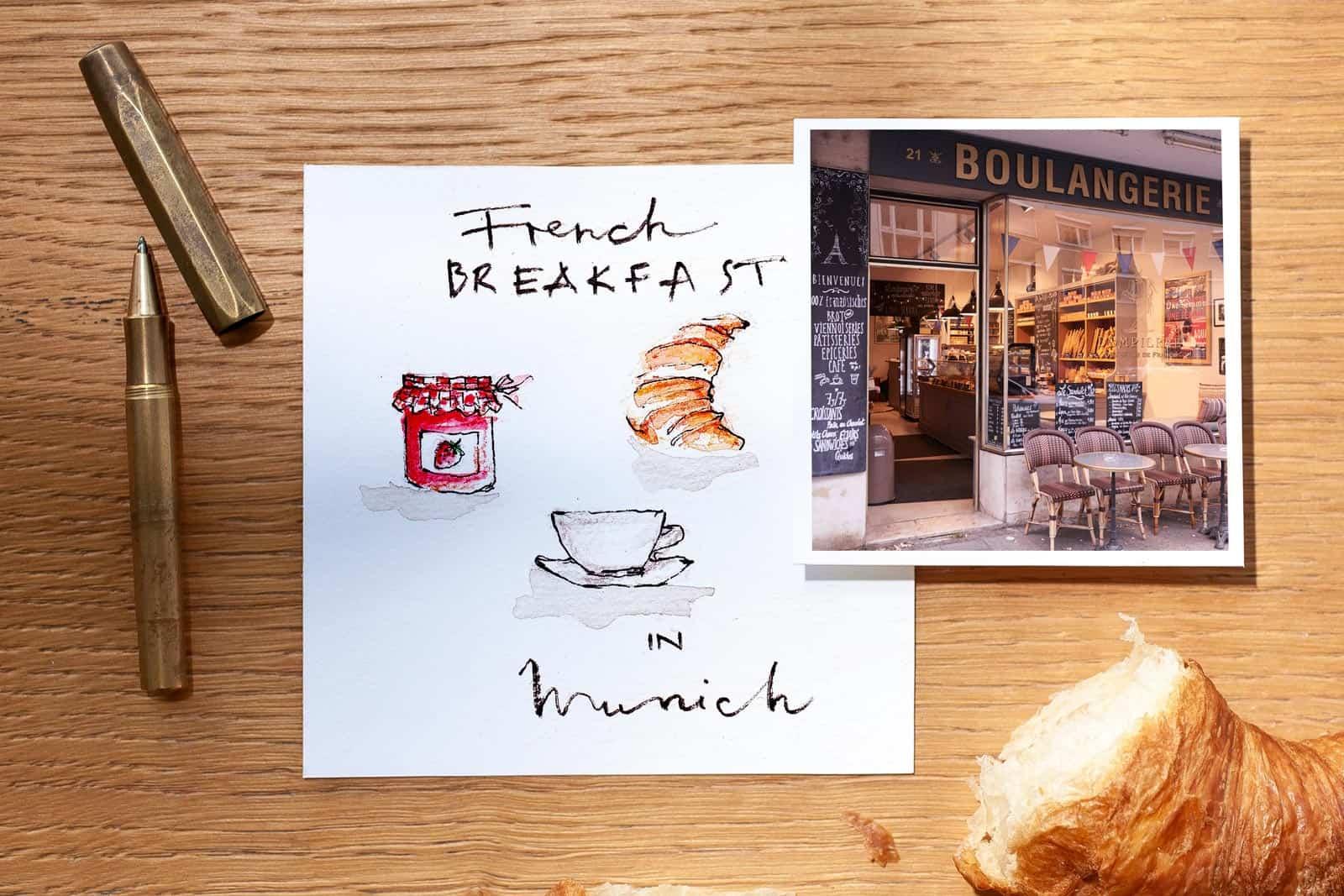 französische Cafés in München - Dompierre - Nadja König