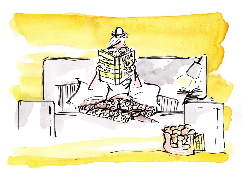 Lieferung für Couch Potatoes