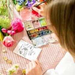 Karte zum Muttertag Illustration