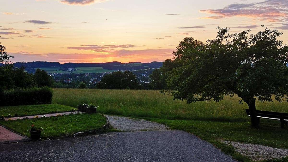 Nadja König - Urlaub in Bayern - Waging am See