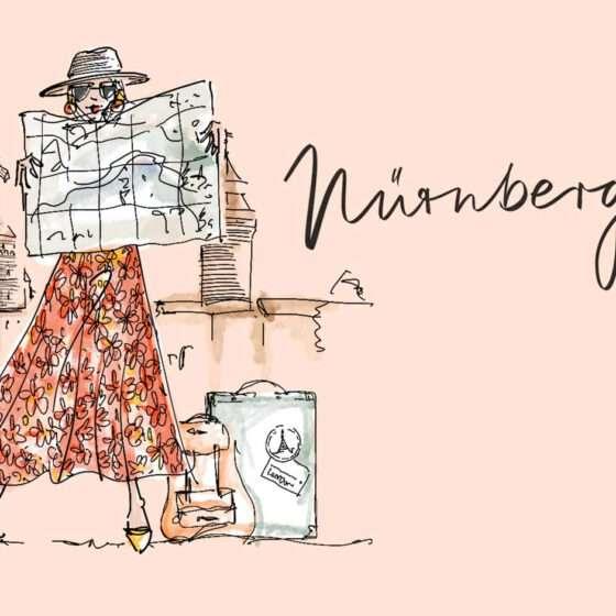 Städtetrip Nürnberg - Illustration Nadja König
