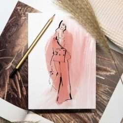 Nadja König Fashion Sketch Illustration Dimitri Meran