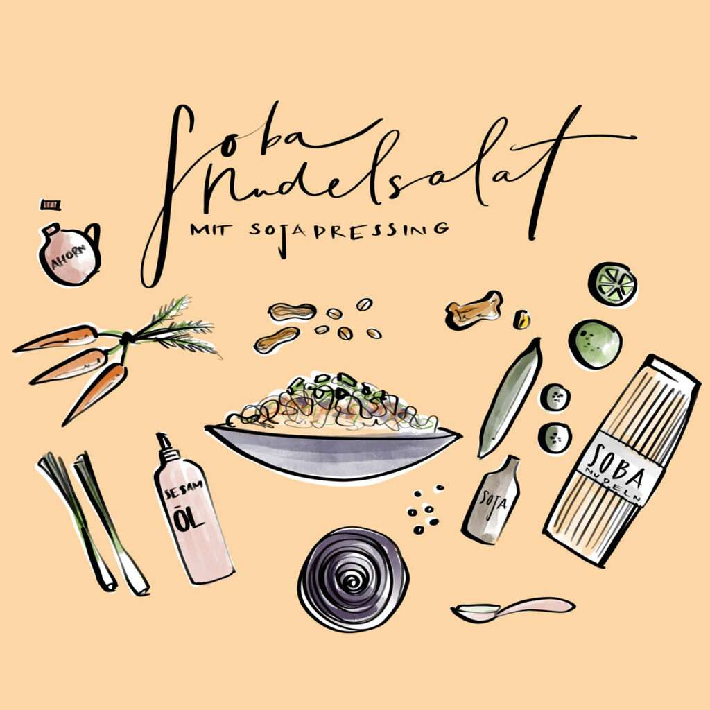 Taste of Life Food Illustration Nadja König