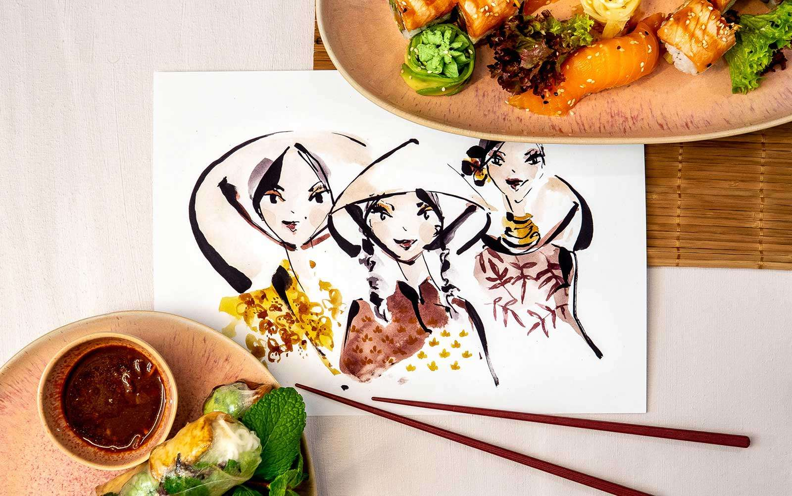 Nadja König Illustration Food Jacci Asian Kitchen München