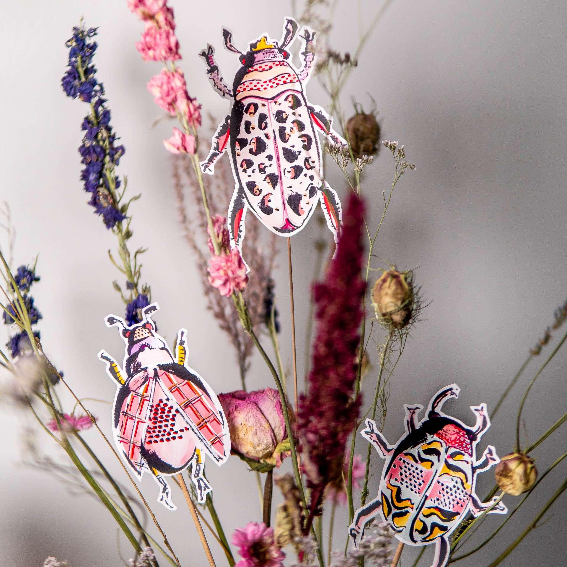 Nadja König Trockenblumen Frühlingsdeko