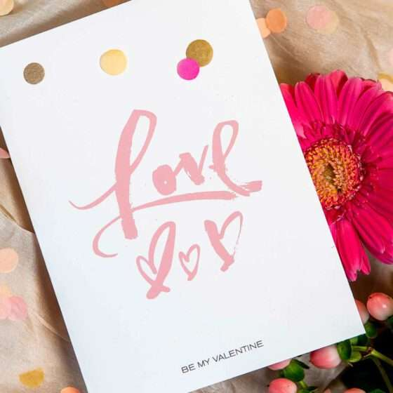 Freebie: Illustrierte Valentinstagskarten von Nadja König