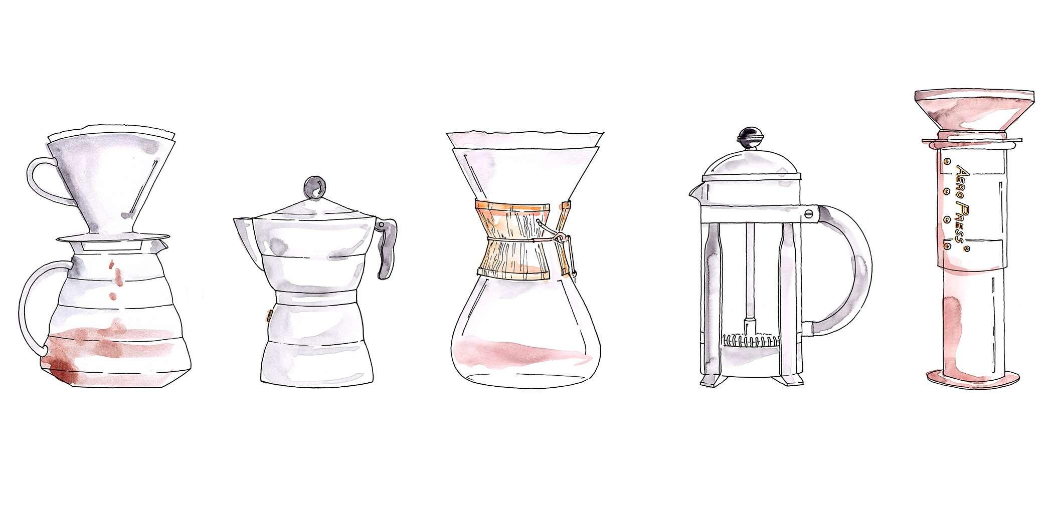 Nadja König Illustration Dallmayr München Kaffee