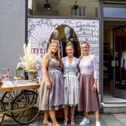 Nadja König Schaufenster Dekoration für CocoVero München