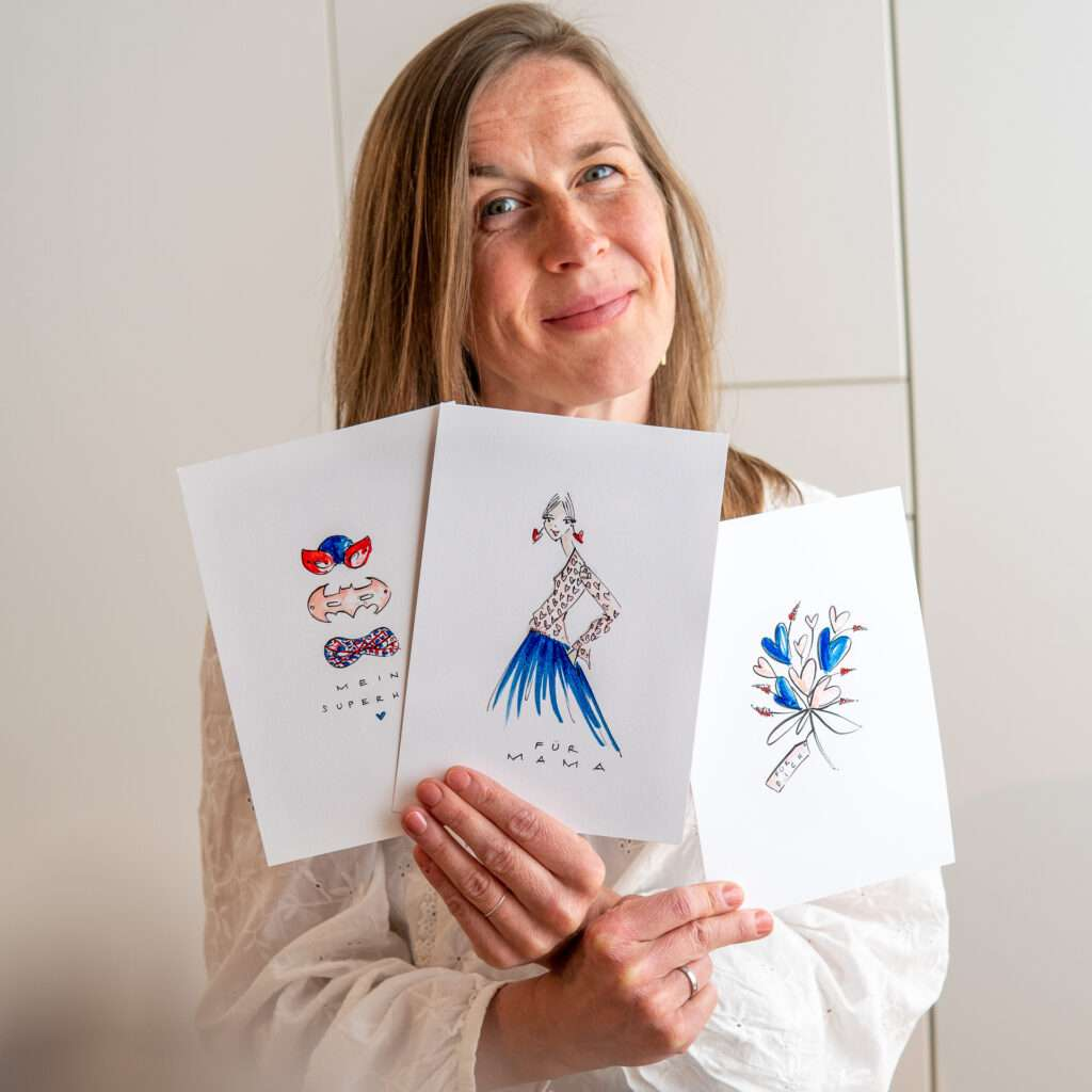 Nadja König Illustratorin München Personalisierte Unikate