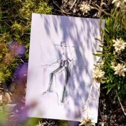 Nadja König Mons Silva Chalets Illustration Illustratorin